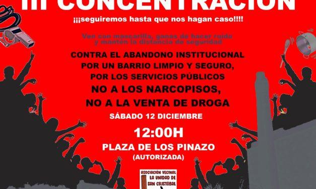 San Cristóbal de los Ángeles vuelve a protestar contra la droga y los narcopisos