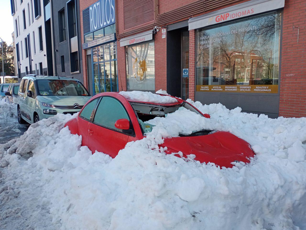 Las personas damnificadas por la gran nevada ya pueden solicitar ayudas al Estado