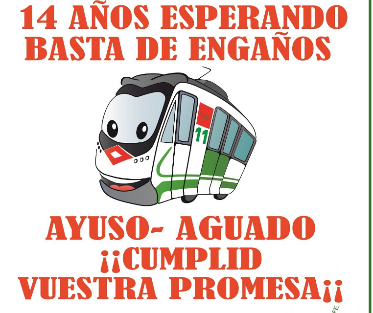 Nueva movilización vecinal en Carabanchel para reactivar la prolongación de la línea 11 de Metro