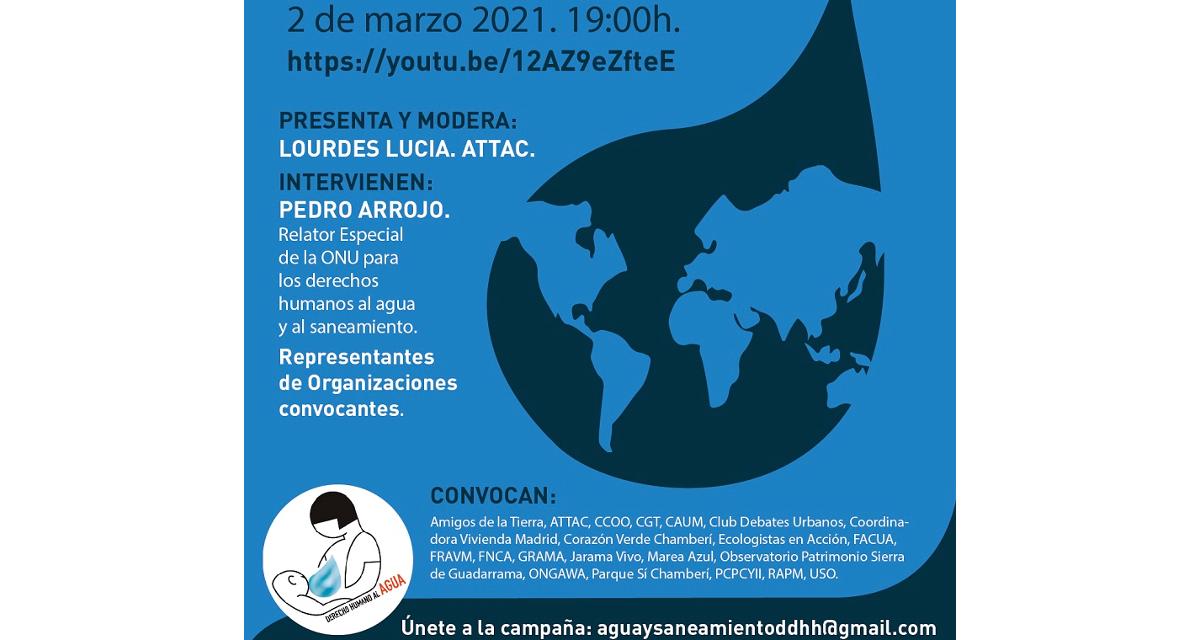 """Arranca la campaña """"Agua y saneamiento, derechos humanos básicos para la vida"""" en la Comunidad de Madrid"""
