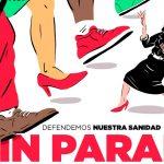 Vallecas sale a la calle para pedir la reapertura inmediata de los Servicios de Urgencia de Atención Primaria