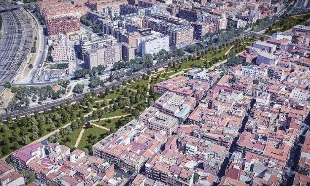 Las asociaciones vecinales de la zona celebran el acuerdo del pleno municipal para el derribo del scalextric de Puente de Vallecas