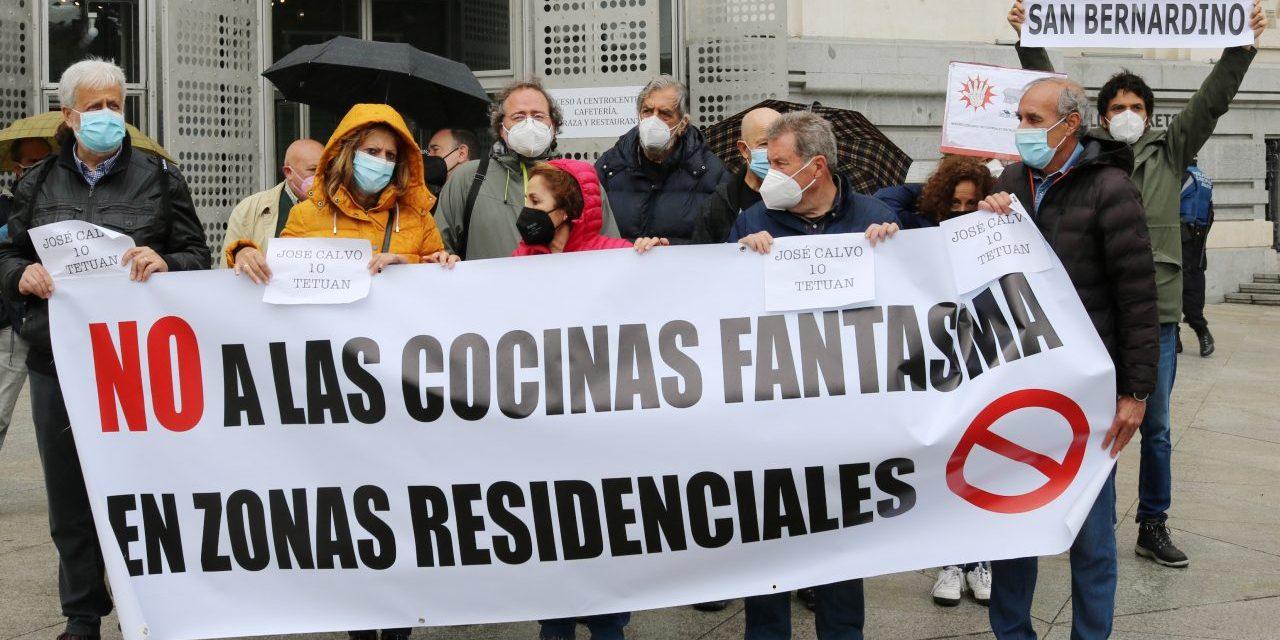 La FRAVM denuncia ocho establecimientos de cocinas fantasma y pide la intervención urgente del Ayuntamiento