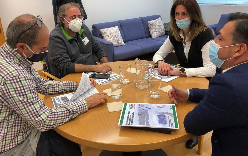 La FRAVM presenta al Partido Popular sus propuestas para las elecciones del 4M