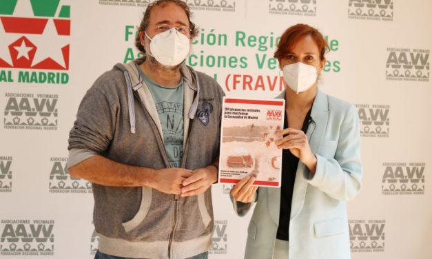 Elecciones del 4M: la FRAVM traslada a Mónica García una batería de medidas para transformar la región
