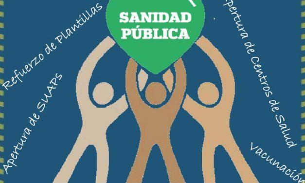 El movimiento vecinal de Latina sale a la calle en defensa de la sanidad pública