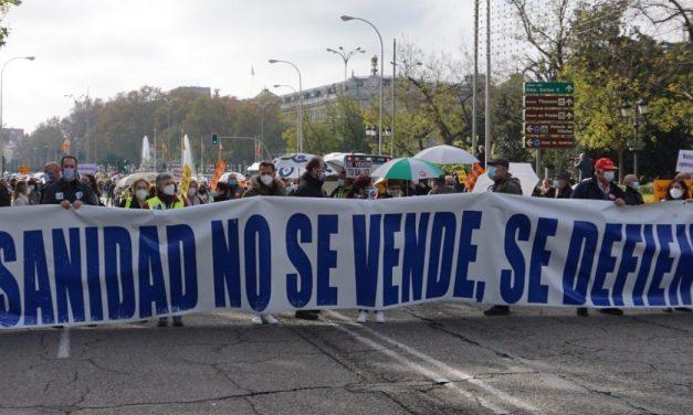 """La Marea Blanca se concentra el sábado 17A bajo el lema """"Elige Sanidad Pública"""""""