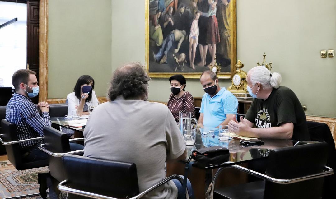 La Federación Vecinal se reúne con la nueva delegada del Gobierno en Madrid