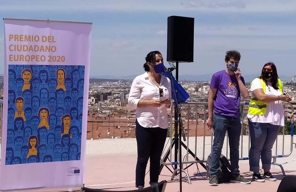 Somos Tribu Vallecas recibe el premio Ciudadano Europeo 2020 y lo hace extensivo a todas las redes vecinales