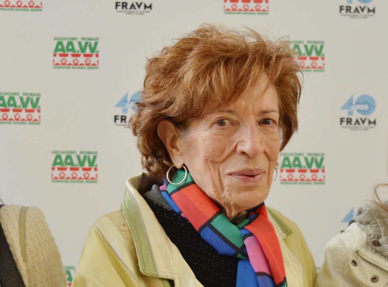 Fallece Julia García, voz y alma de la colonia Roger de Flor de Carabanchel