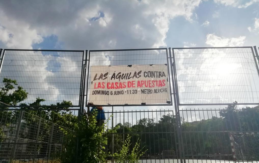 Colectivos vecinales de Aluche, Águilas y Lucero llaman a manifestarse el 6 de junio contra los locales de apuestas