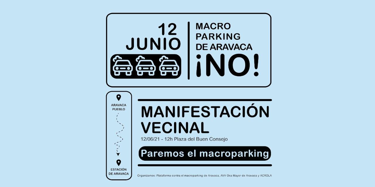 Rechazo en Aravaca a la construcción del macroaparcamiento municipal