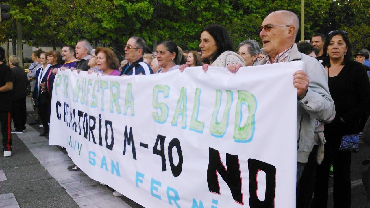 La amenaza del crematorio planea de nuevo sobre San Fermín (Usera)