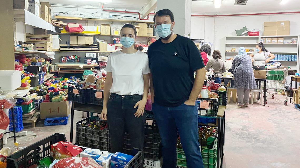 Reparto de alimentos de la Red de Apoyo de Arganzuela, junio de 2021 / Red de Apoyo de Arganzuela