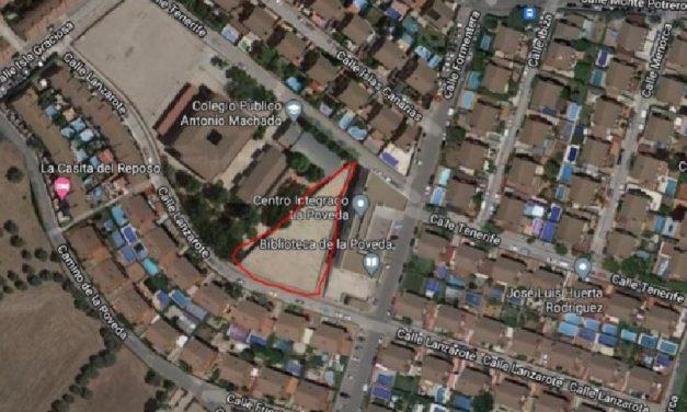 Consulta vecinal en La Poveda: ¿estás de acuerdo en que el Ayuntamiento convierta el solar de la calle Lanzarote en un aparcamiento?
