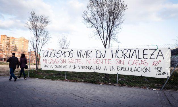 Hortaleza se manifiesta este domingo por el derecho a la vivienda y contra la expulsión de su vecindario