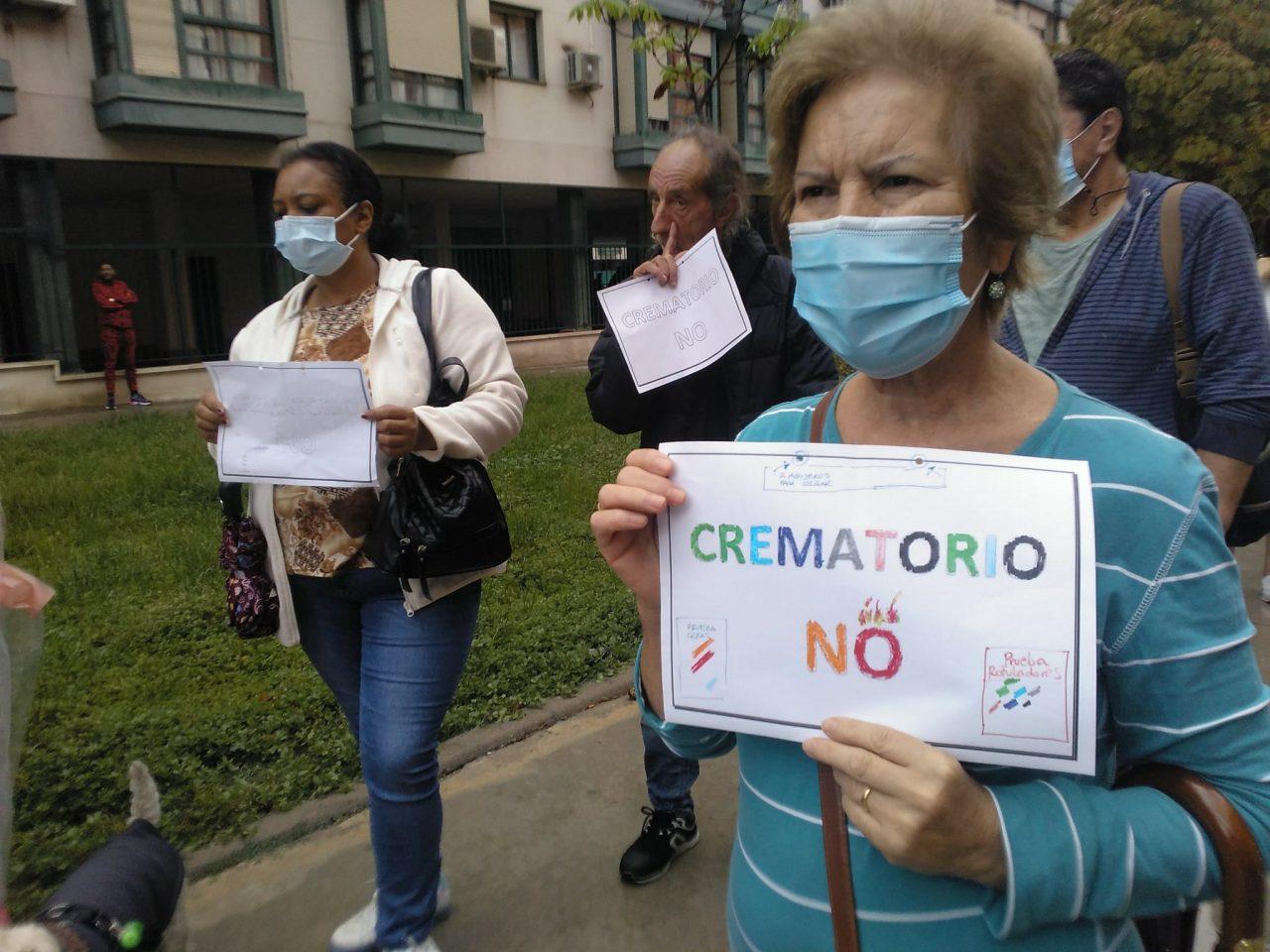 Alegría con cautela ante la decisión municipal de no autorizar el crematorio de la M-40