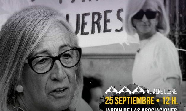 Las asociaciones de Carabanchel rinden homenaje a Lourdes Hernández