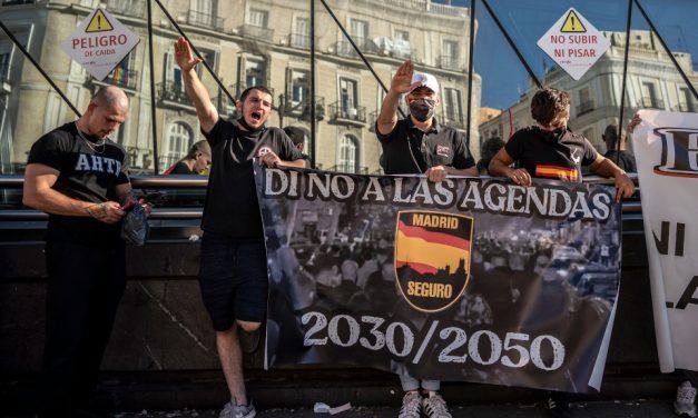 La FRAVM condena la marcha neonazi del sábado y pide que se investigue a sus protagonistas por posibles delitos de odio