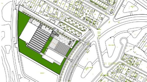 El Ayuntamiento cambia la piscina de verano por un parking de 125 plazas en el nuevo polideportivo de Barajas