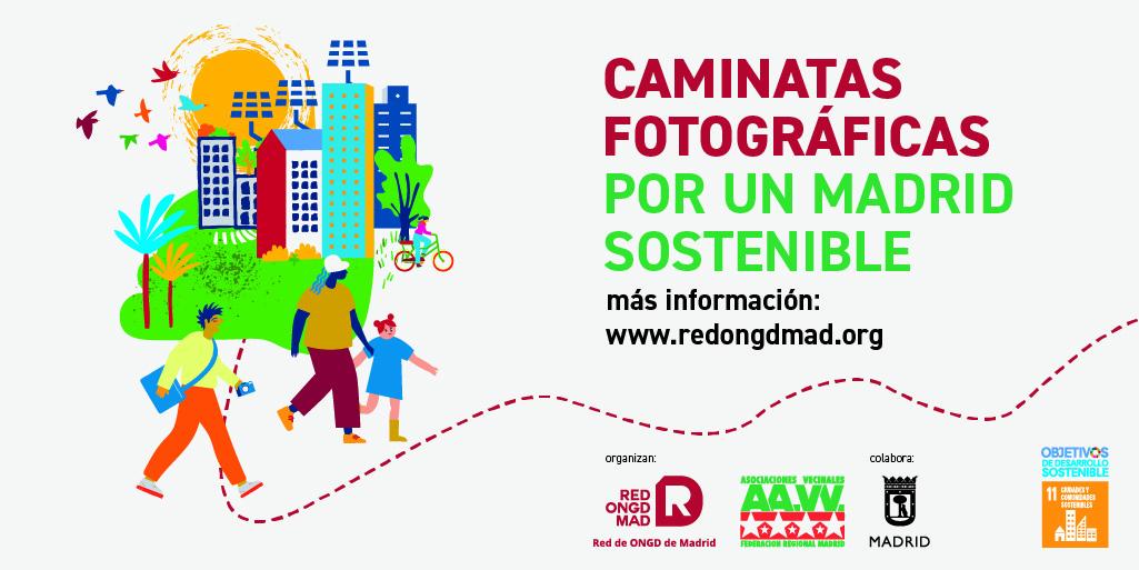 Fin de semana de caminatas fotográficas por un Madrid sostenible