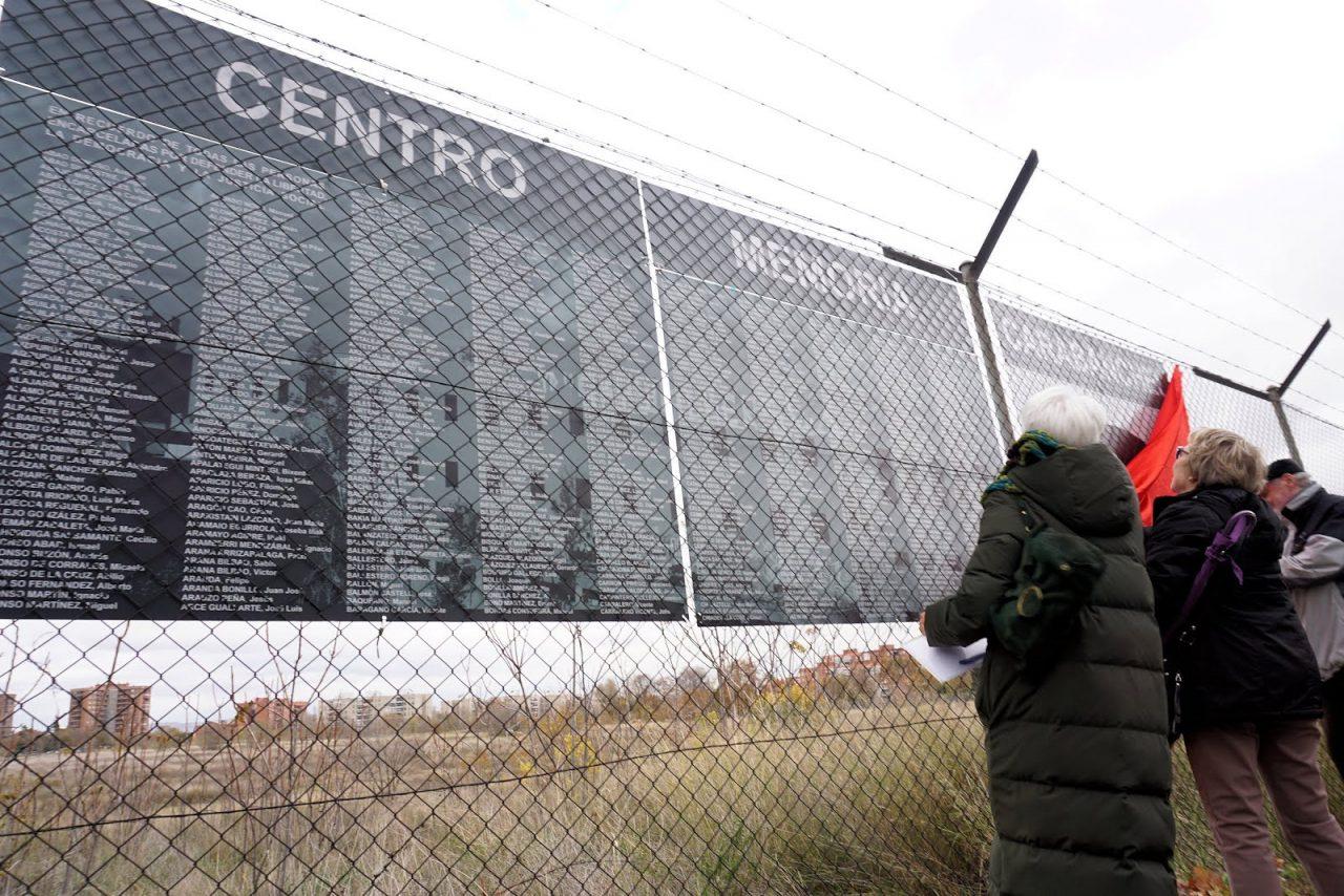 Una acampada para demandar la construcción de un Centro de Memoria en los terrenos del penal de Carabanchel