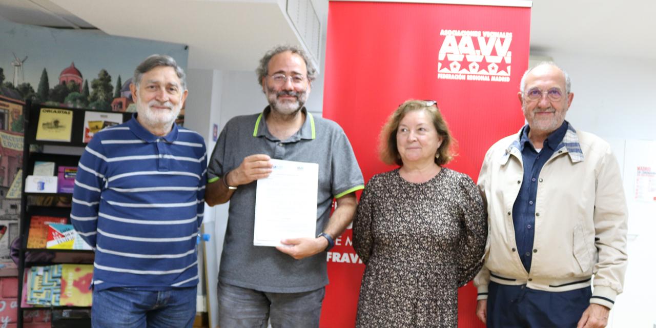 Defender y colaborar más con nuestros vecinos y vecinas mayores, objetivo del convenio firmado por la FRAVM y la Unión de Pensionistas