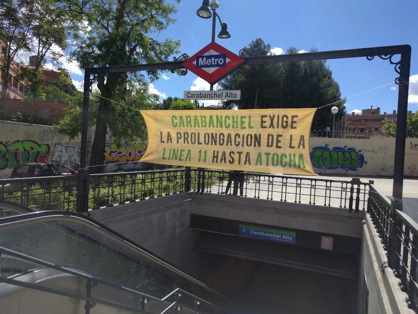 Las obras de ampliación de la línea 11 de Metro comenzarán a lo largo de 2022