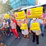 Nueva manifestación vecinal en Retiro por el fin de las terrazas Covid