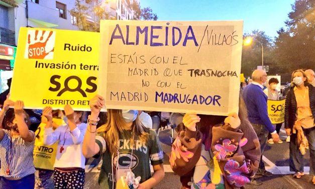 Las asociaciones vecinales piden a los concejales del Ayuntamiento de Madrid que no permitan la prórroga de las terrazas Covid-19